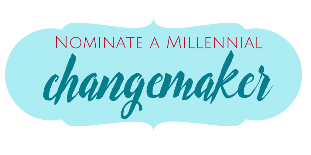 Nominate Changemaker Button