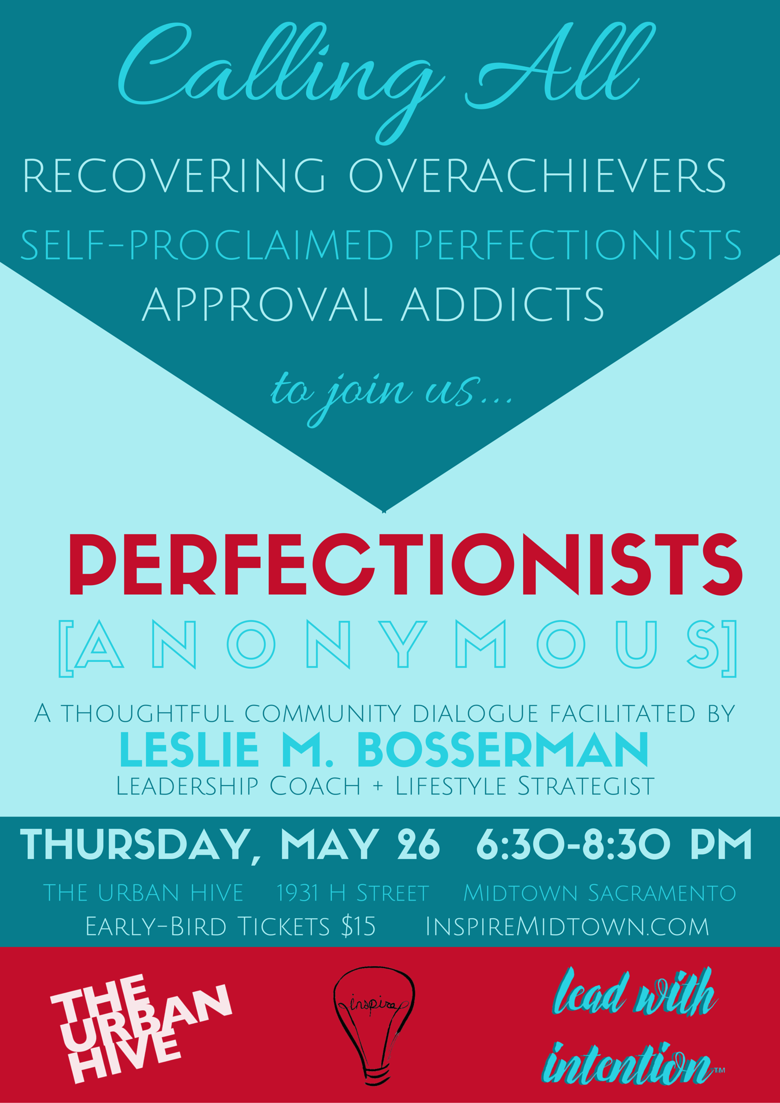 Perfectionists Anonymous Flier