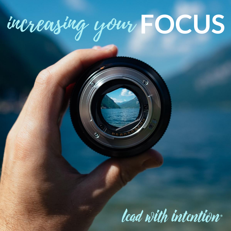 Increasing Your Focus