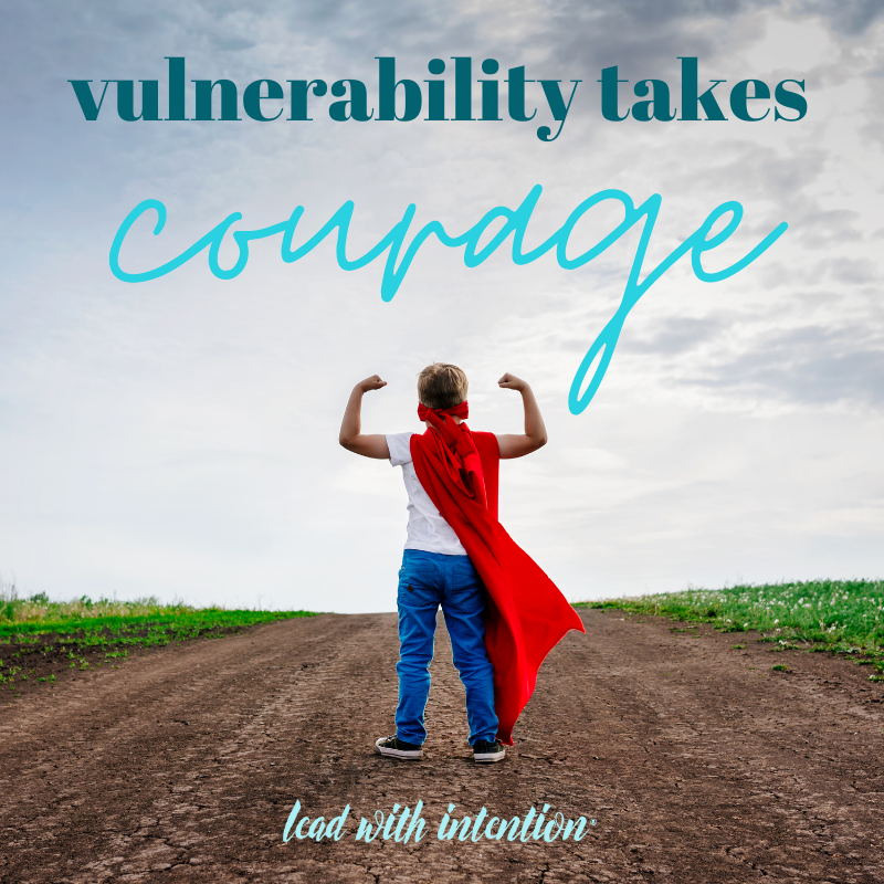 Vulnerability Takes Courage